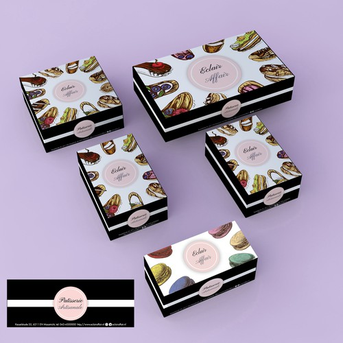 Package design for Eclaire Affair