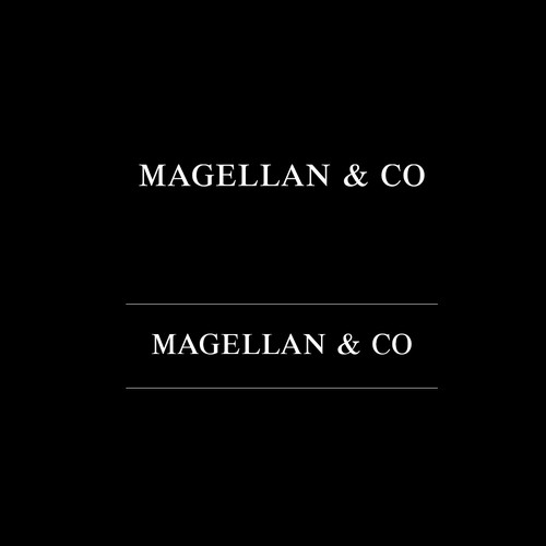 Luxury simple logo design for Magellan & Co