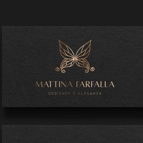 Awesome brand mark for Mattina Farfalla®!