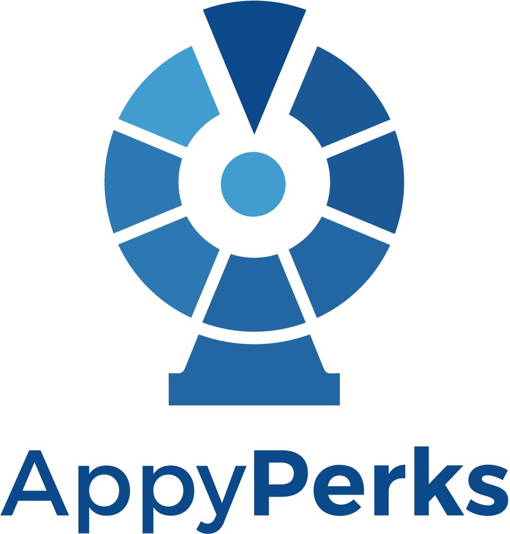 Design a cool logo for our business rewards business named Appy Perks