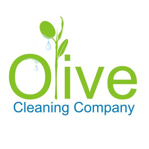 Create a pure clean design for cleaning company with unique name