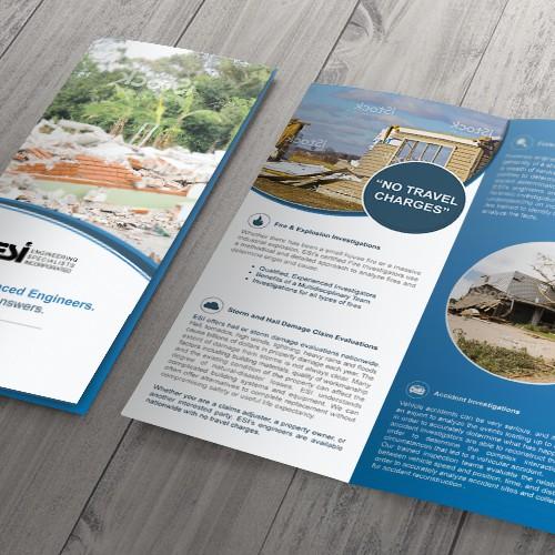 "Recognizable brochure for ""ESI"""