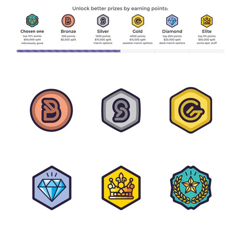 Game Tier Icons