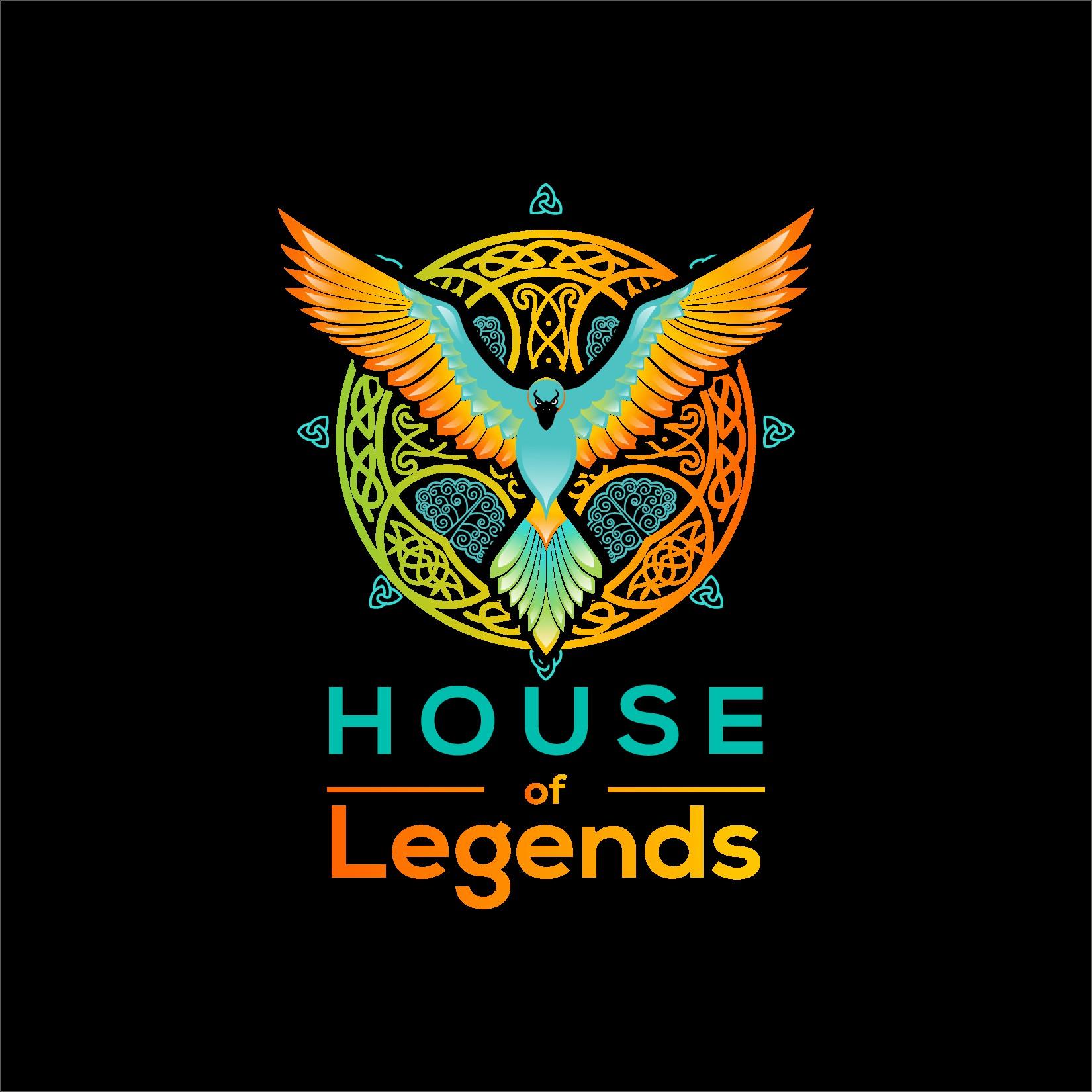 Create an icon for a myths & legends podcast