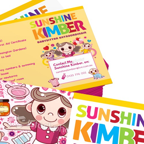 Postcard for Sunshine Kimber