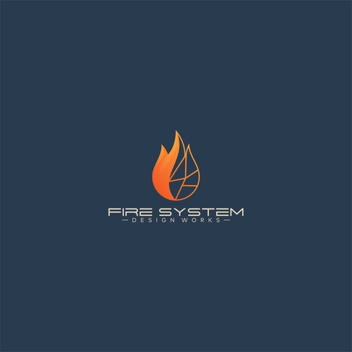 Logo concept for Fire System