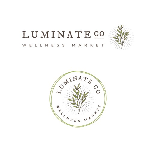 Luminate co. Logo
