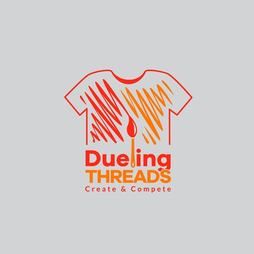 Logo design for Dueling Threads