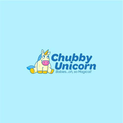 Logo Concept for Chubby Unicorn