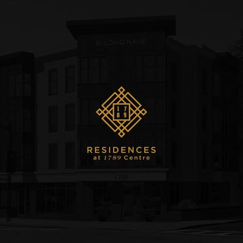 Logo for residences building