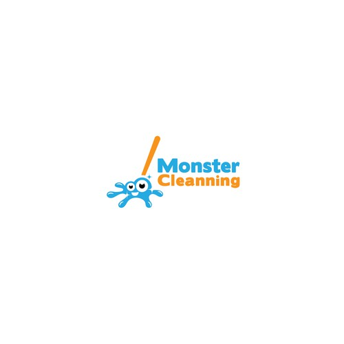 Monster Cleanning logo