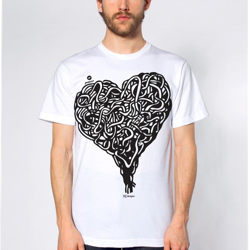 Design cool T-shirt for a Digital festival!