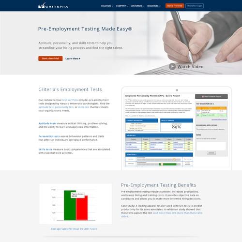 Criteria Corp Home Page