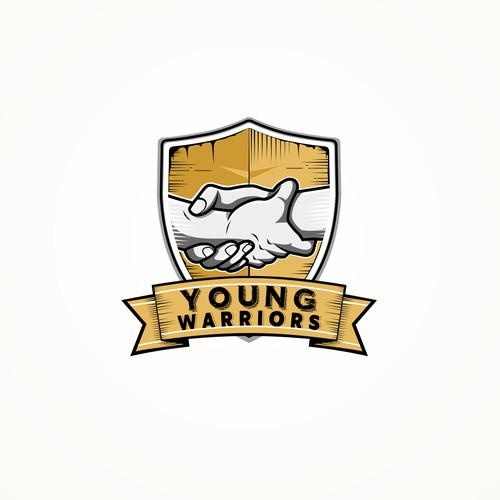Logo for 'Young Warriors'