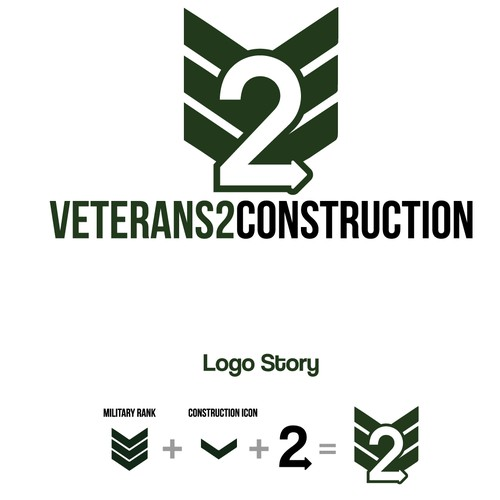 Creat a winning logo for Veterans2Construction