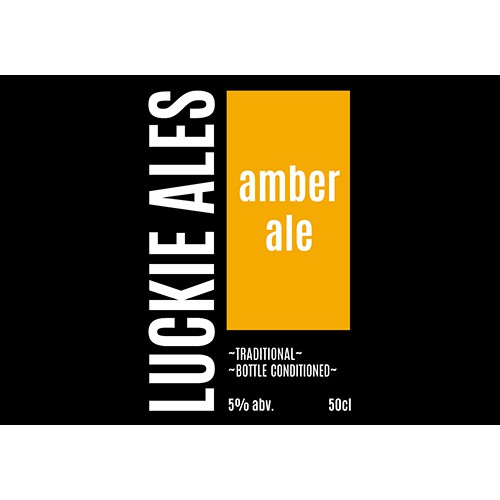 Beer Label Design for Luckie Ales