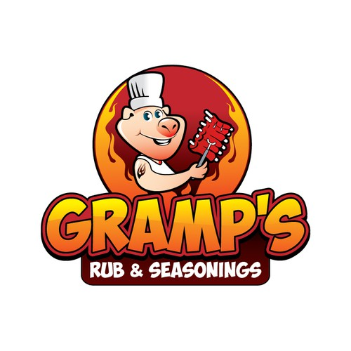 Create Logo for Local BBQ Rubs Business