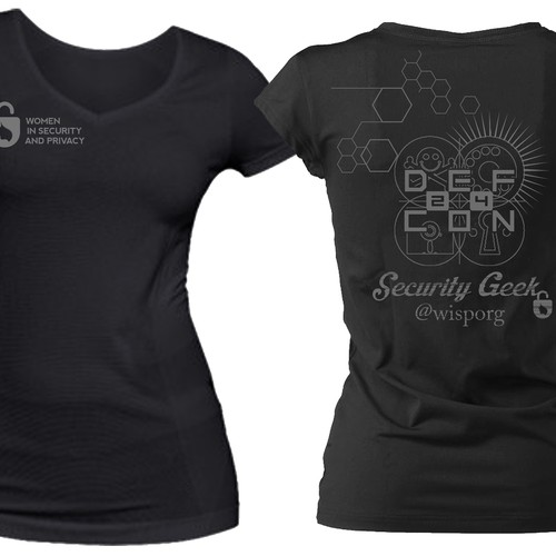 Women's T-Shirt for the DEC CON 24 Security Conference