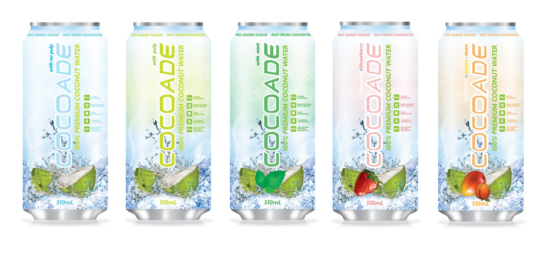 **Important & Help!** COCOADE (A New Sports Drink Label Design needed)