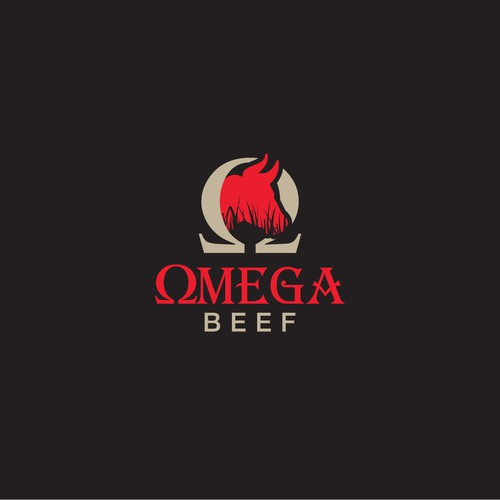 Logo for a Beef shop