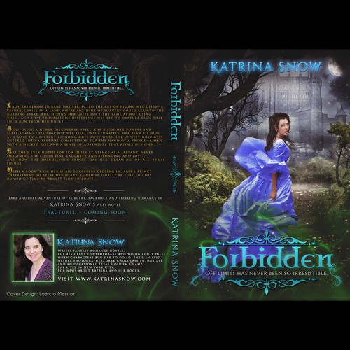 Cover art - Create a Fantasy Romance book