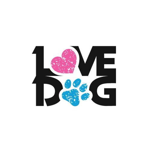"Logo design for ""LOVE DOG"""