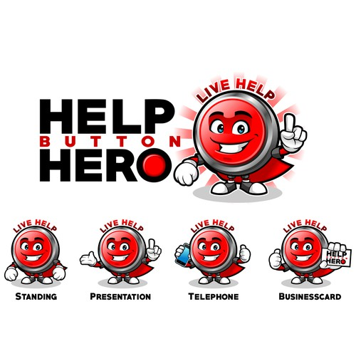 Help Button Hero