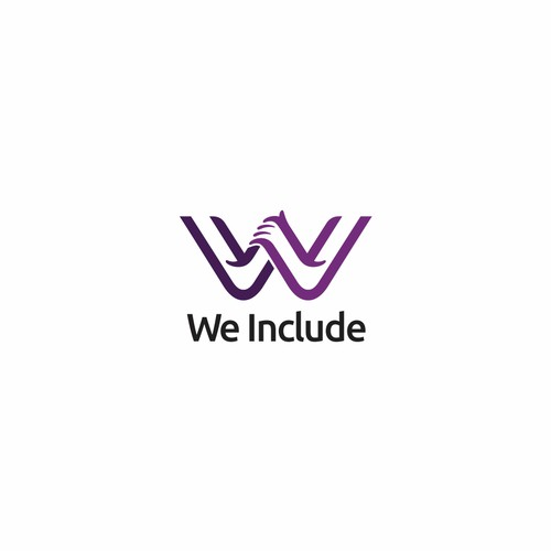 Logo concept for We Include