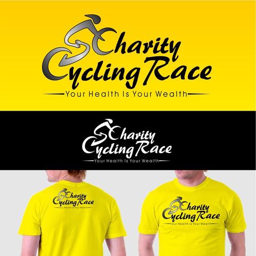 Create a winning logo for Saudi Charity Cycling Race