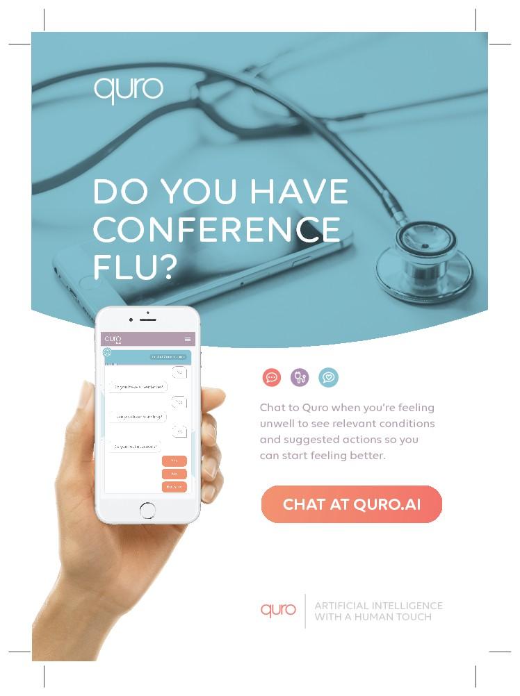 Design a Flyer For Innovative Health Chatbot