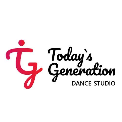 Logo for dance studio