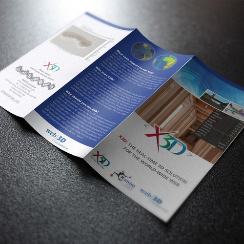 X3D brochure design