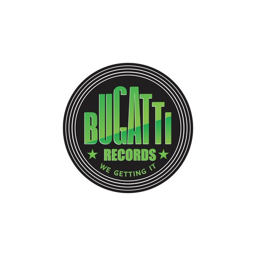 Create the next logo for Bugatti Records