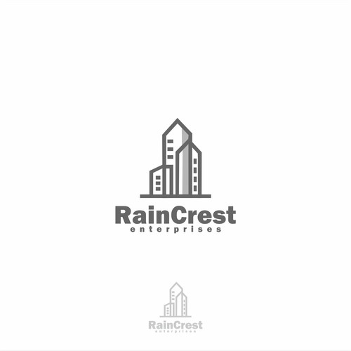 Logo concept for real estate