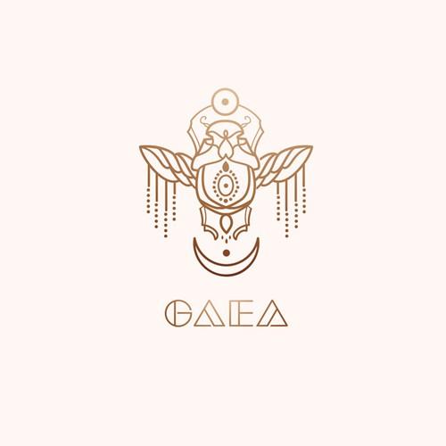 Bold logo for highfashion house GAEA