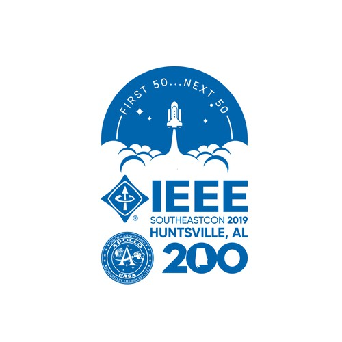 IEEE SoutheastCon 2019 Conference Logo
