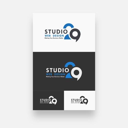 Studio 29 Web Design Logo