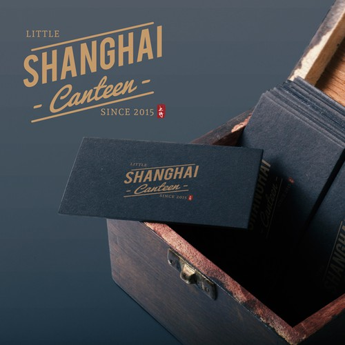 Little Shanghai Canteen Logo Design