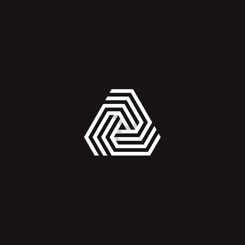 Geometric logo for trading company
