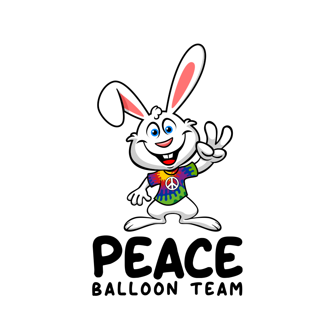PEACE BUNNY Balloon Team
