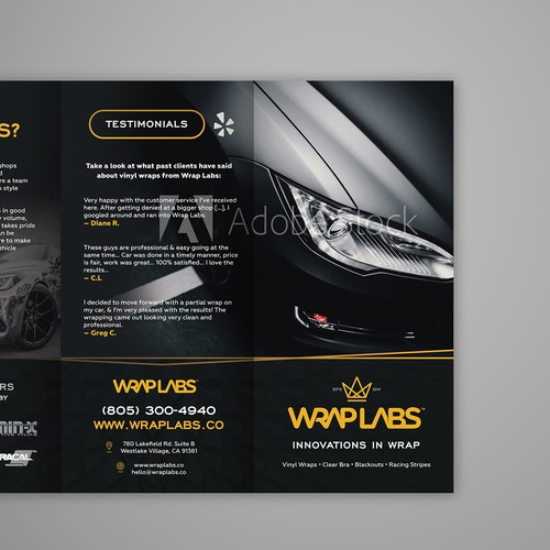 WrapLabs brochure
