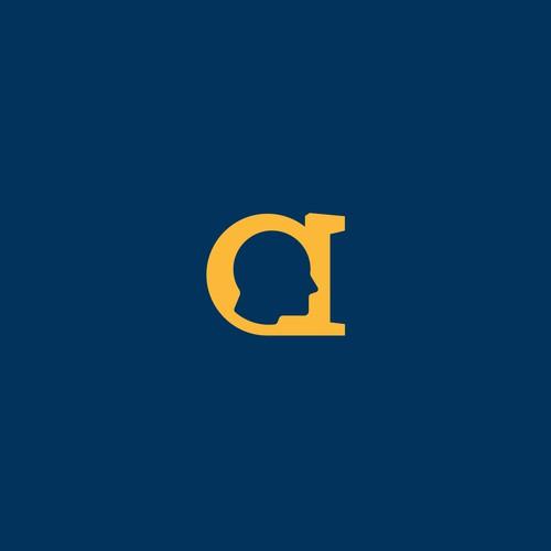 Human Logo in A Wordmark