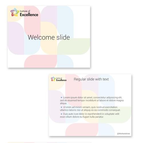PowerPoint template for webinar