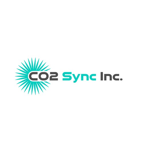 Teal colored CO2 Sync Inc