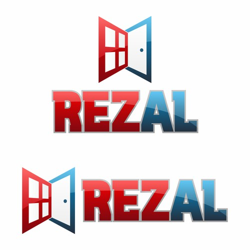 Red & Blue Logo for REZAL