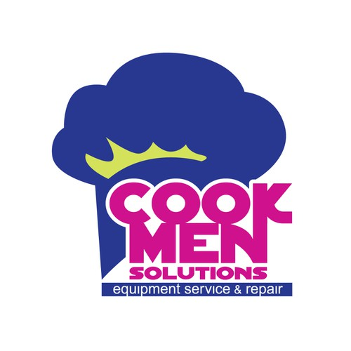 Logo for start-up service company for restaurant equipment