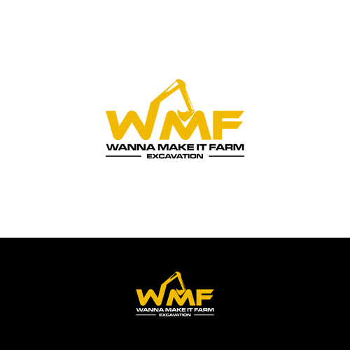 Create a modern and simple logo for an Excavation company!