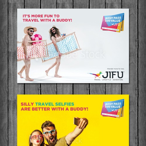 JIFU Buddy travel campaign concept