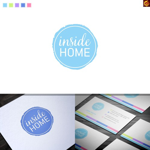 Inside Home Logo & Brand Identity Package