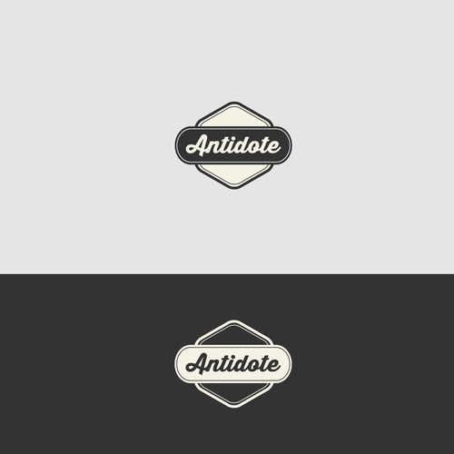 "Logo for our new company ""Antidote"""